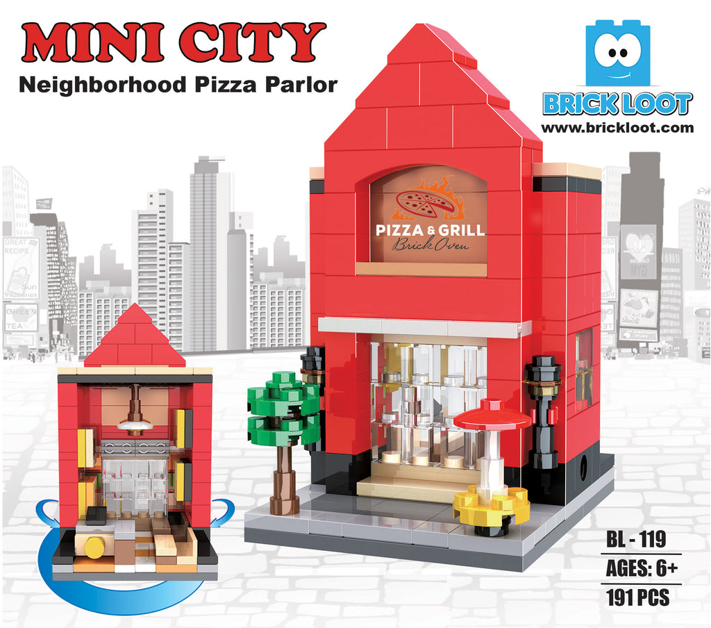 Brick-Loot-Custom-Brick-Set-Pizza Parlor