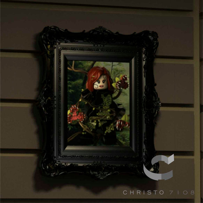 Christo Custom Fine Art Brick Painting  - Poison Ivy - LIMITED EDITION