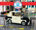 Exclusive Brick Loot Build 2-in-1 Taxi Cab or Police Car by Vadims Sendže – 100% LEGO Bricks