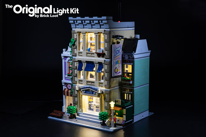 LED Lighting Kit for LEGO Creator Police Station 10278