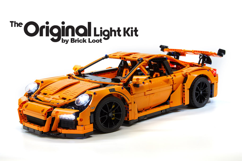 LED Lighting Kit for LEGO Porsche 911 GT3 RS - 42056