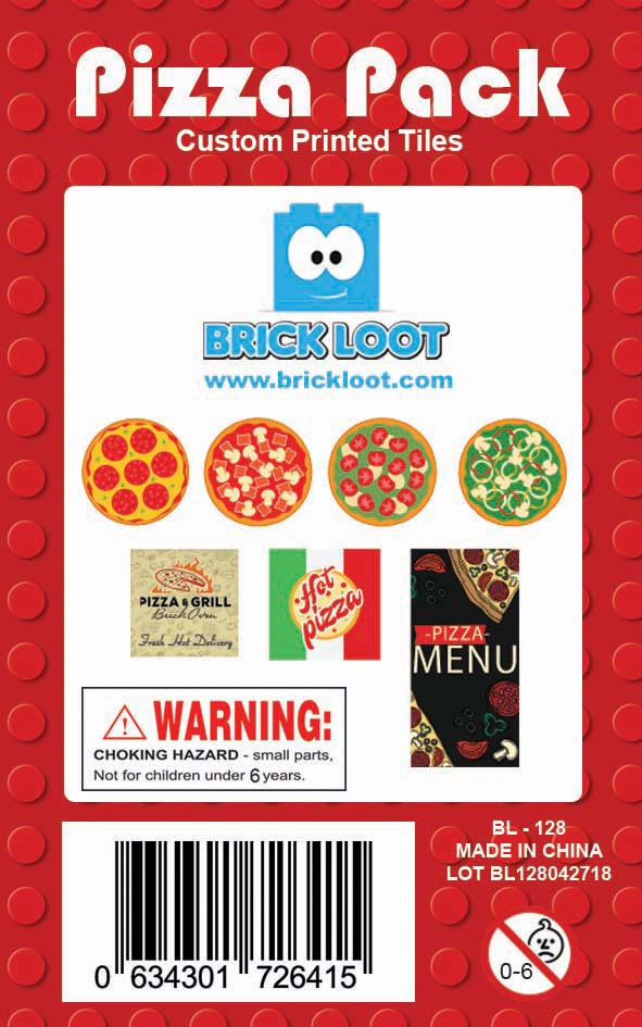 Brick-Loot-Custom-LEGO-Compatible-Tile-Pack-Pizza