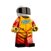 Brick Loot Exclusive Racer Custom LEGO® Minifigure LIMITED EDITION