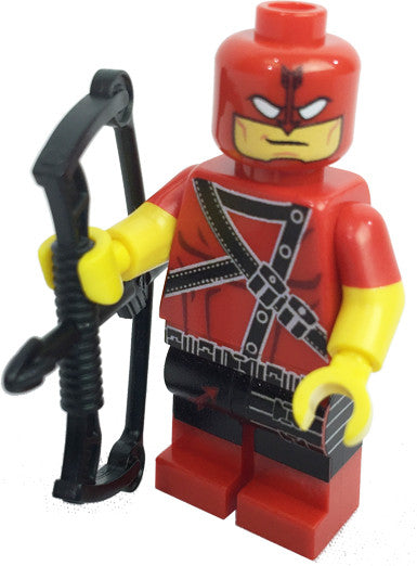Brick-Loot-Exclusive-Red-Archer-Custom-LEGO-Minifigure