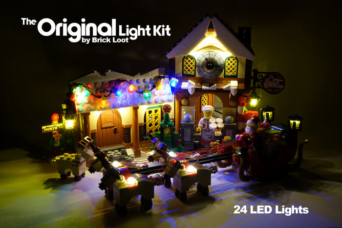 LED Lighting kit for LEGO 10245 Santa's Workshop