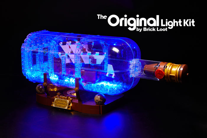 LED Lighting Kit for LEGO Ship in a Bottle 21313