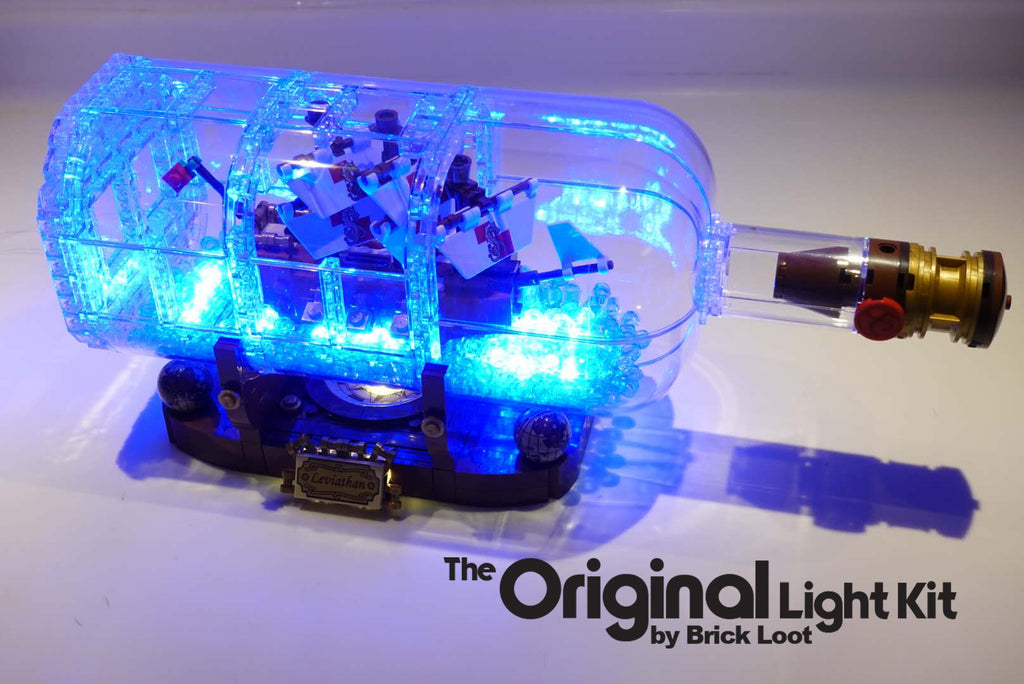 LED Lighting kit for LEGO 21313 Ship in A Bottle