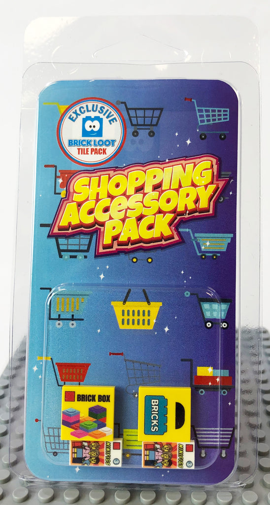 Brick Loot Exclusive Shopping Accessory Custom Tile Pack LIMITED EDITION