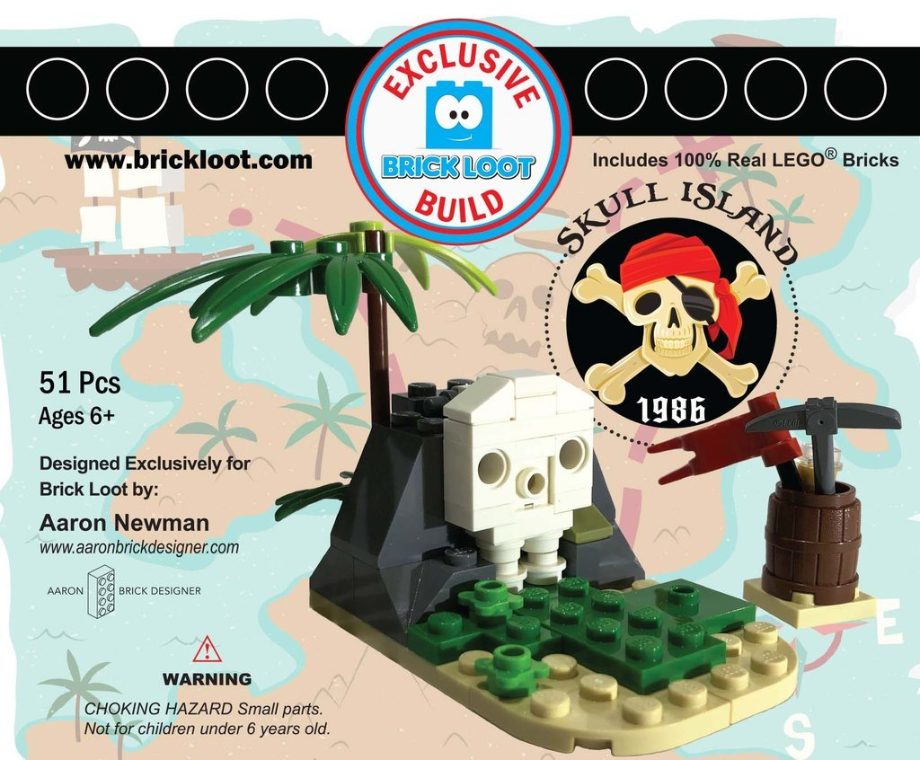Exclusive-Brick-Loot-Build-Custom-LEGO-Set-100%-LEGO-Bricks-Skull-Island