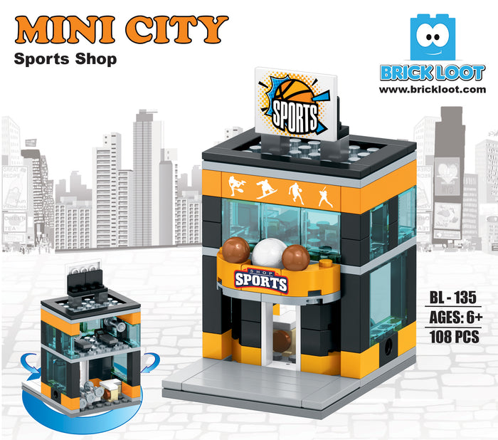 Mini City - Sports Shop