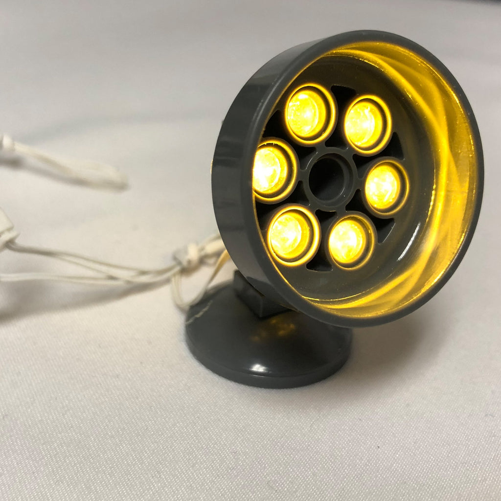 LED-Spot-Light-Yellow-Round-LED-LIGHT-LINX-Create-Your-Own-LED-String-works-with-LEGO-bricks-by-Brick-Loot