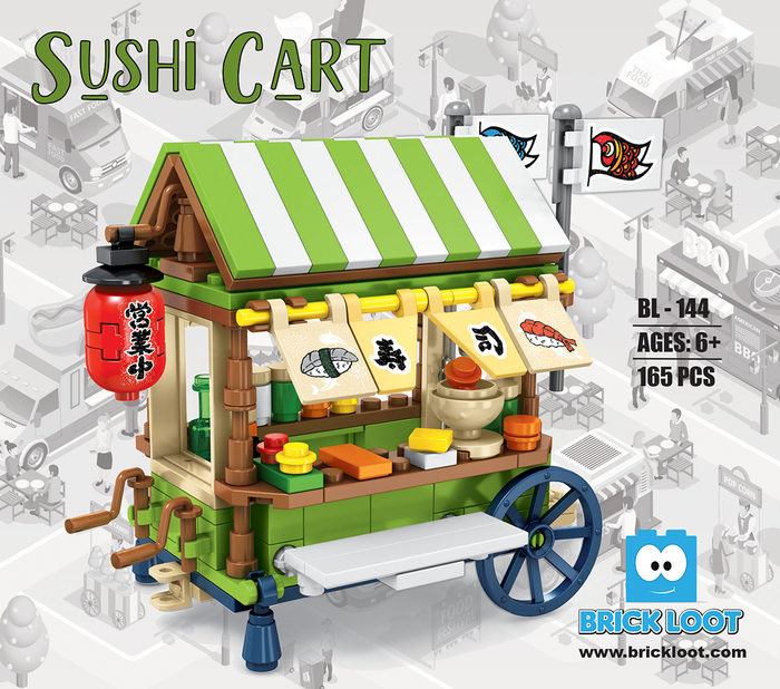 Brick-Loot-Mini-City-Sushi-Cart