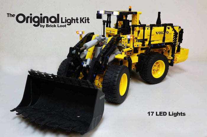 LED Lighting Kit for LEGO Technic Volvo L350F Wheel Loader 40230