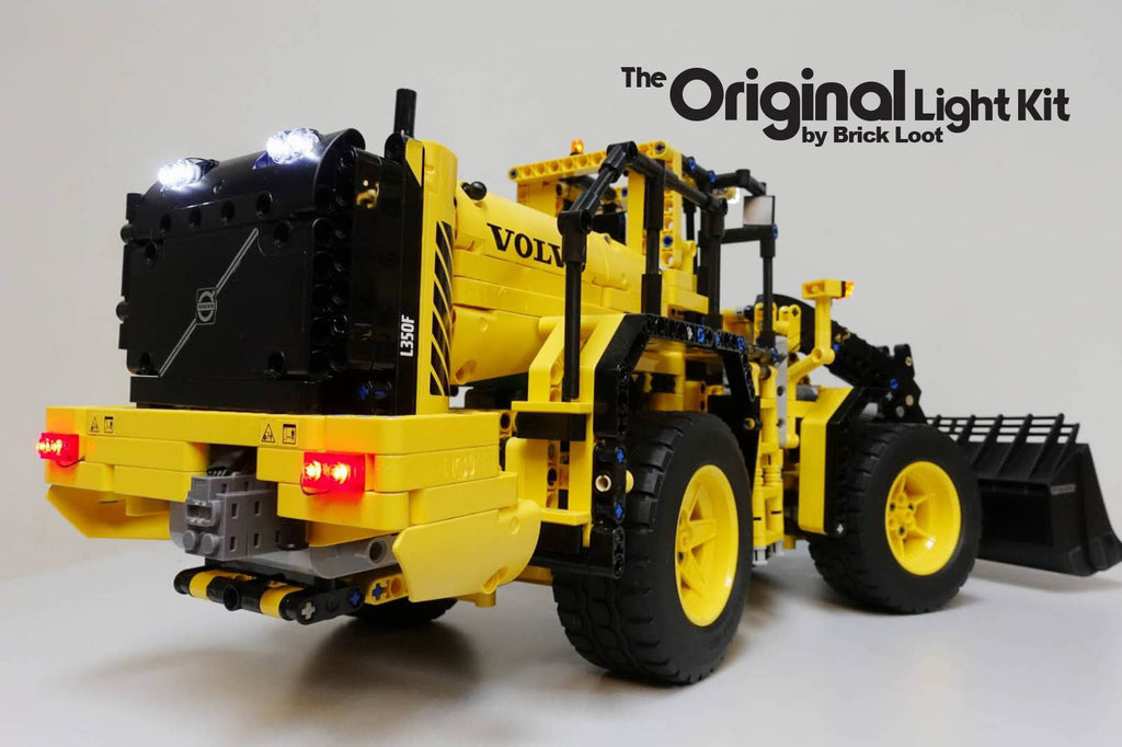 LED Lighting kit for  LEGO® Technic Volvo L350F Wheel Loader