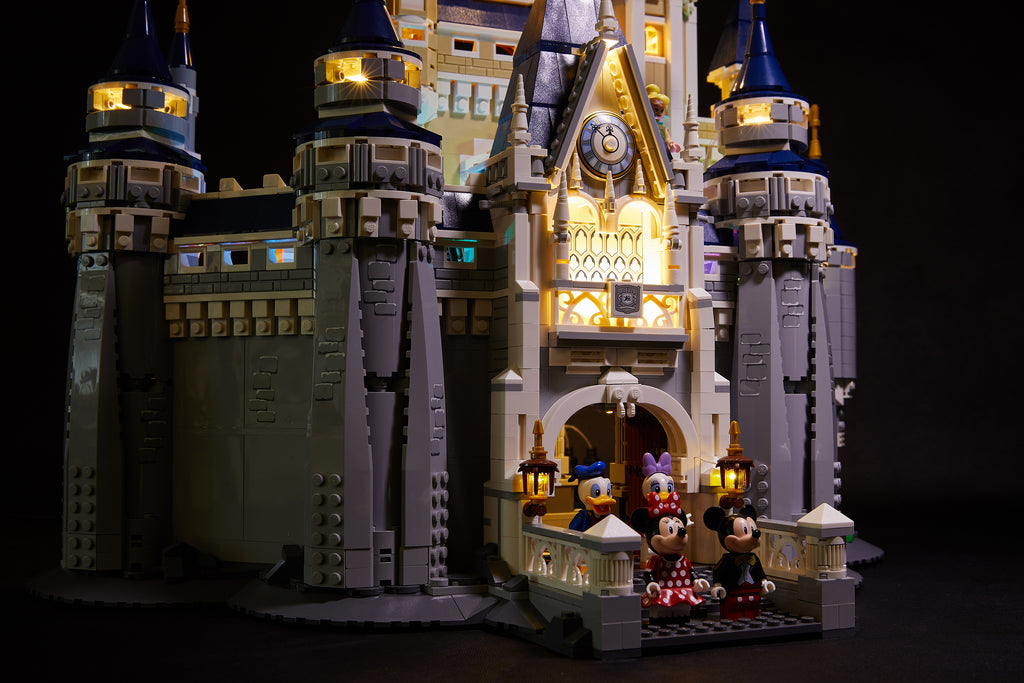 LED Lighting kit for LEGO Disney Castle 71040