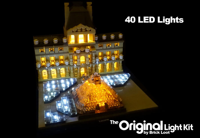 LED Lighting kit for LEGO® 21024 Louvre