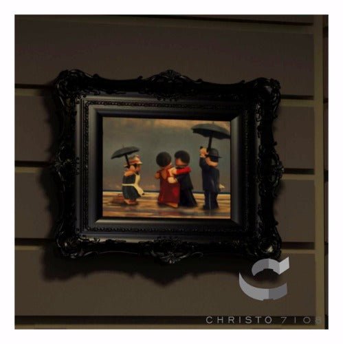 Christo Custom Fine Art Brick Painting  - The Singing Brick Painting - LIMITED EDITION