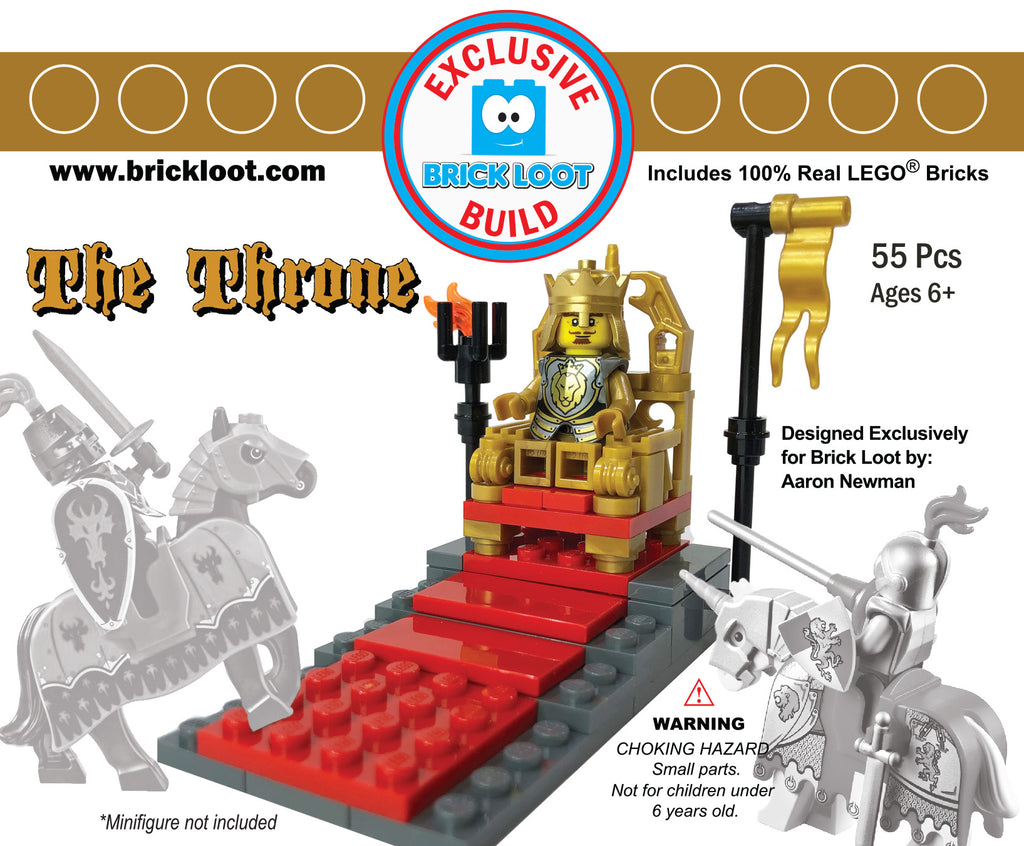 Exclusive-Brick-Loot-Build-The-Throne-100%-LEGO-Bricks-designed-by-Aaron-Newman