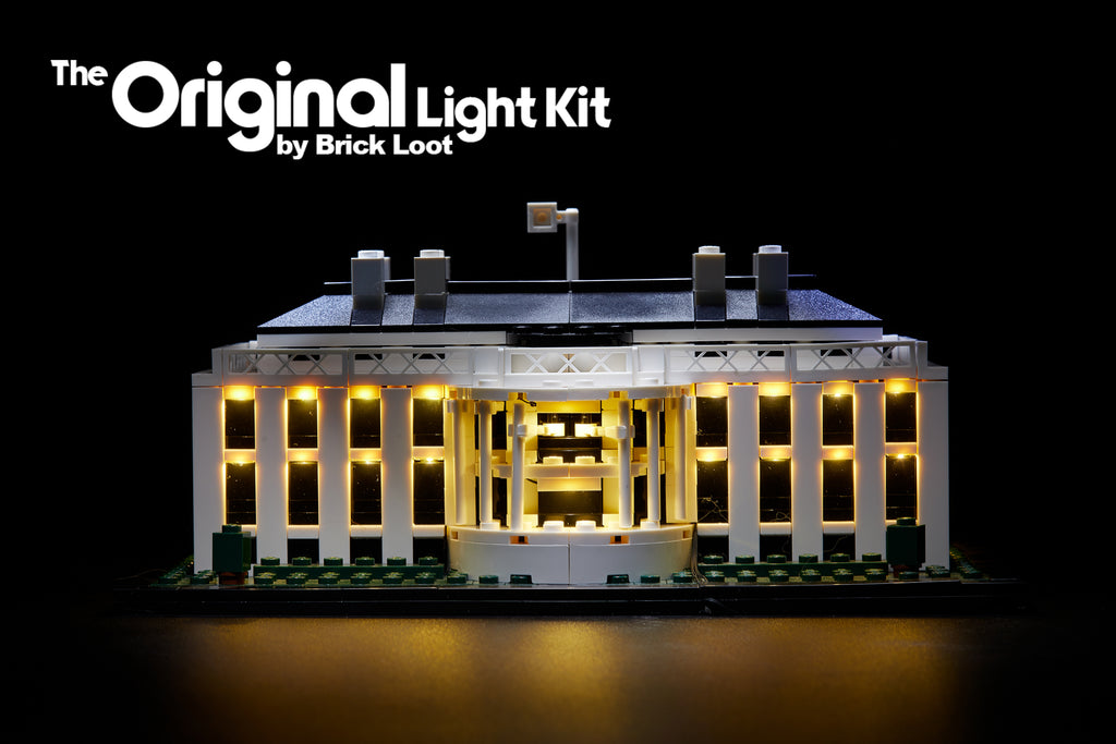 LED Lighting kit for LEGO 21006 Architecture The White House