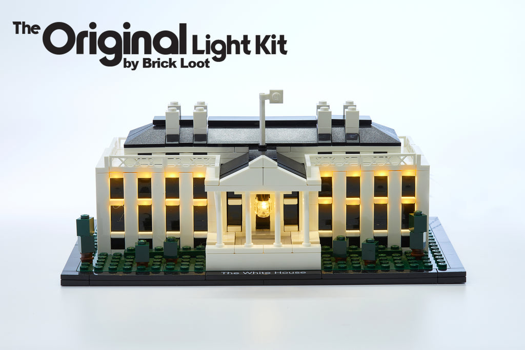 LED Lighting Kit for LEGO Architecture The White House 21006