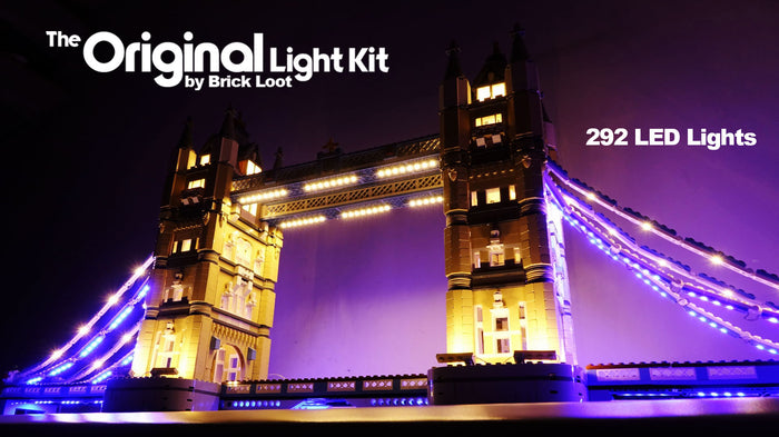 LED Lighting Kit for LEGO Tower Bridge 10214