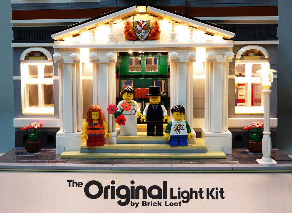 LED Lighting kit for LEGO® 10224 Town Hall LED Lighting Kit