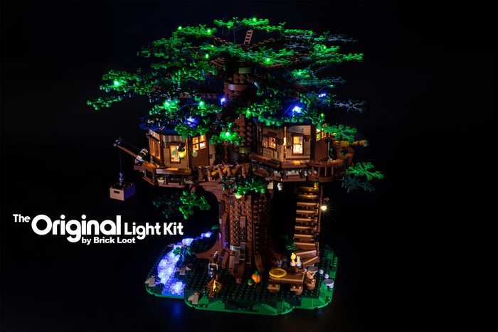 Brick-Loot-LED-Lighting-Kit-for-LEGO®-Ideas-Tree-House-set-21318