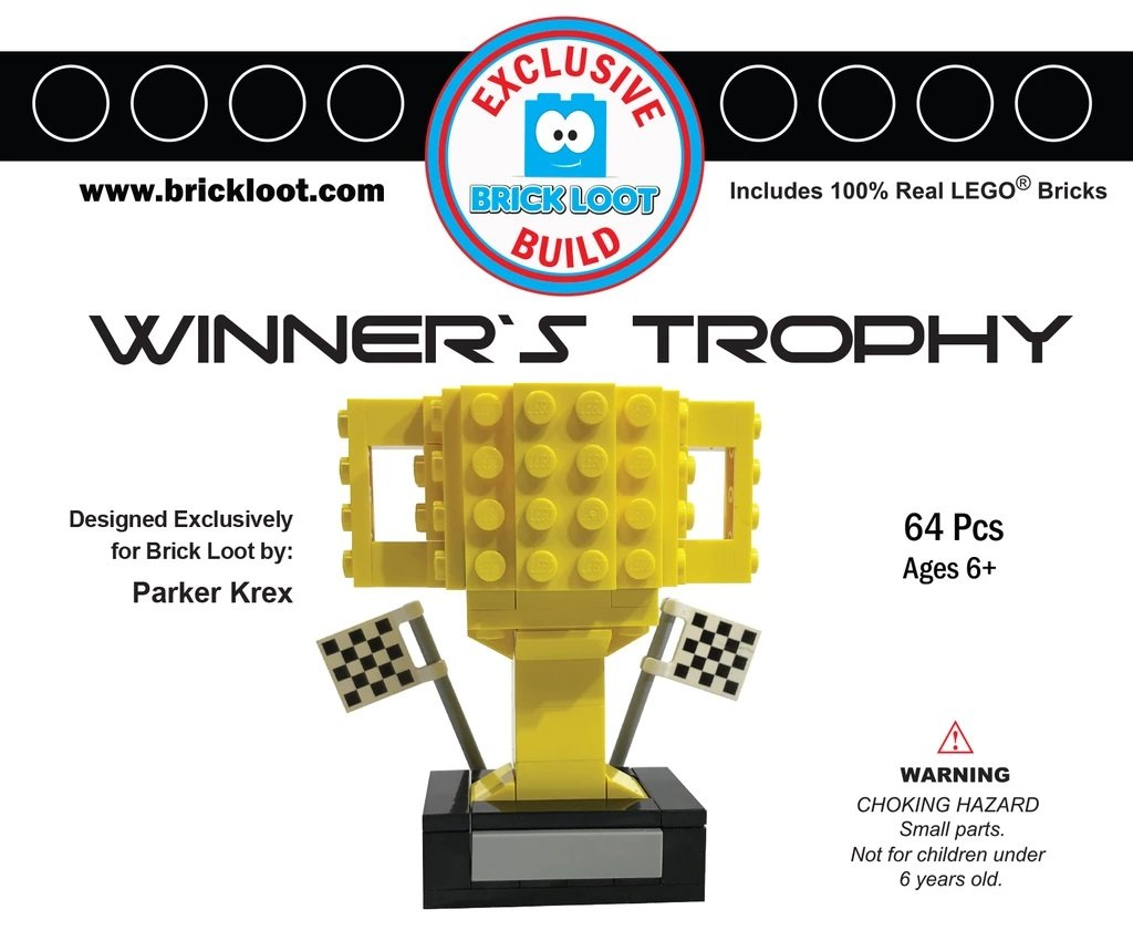 Exclusive-Brick-Loot-Build-Custom-LEGO-Set-100%-LEGO-Bricks-Winner's-Trophy