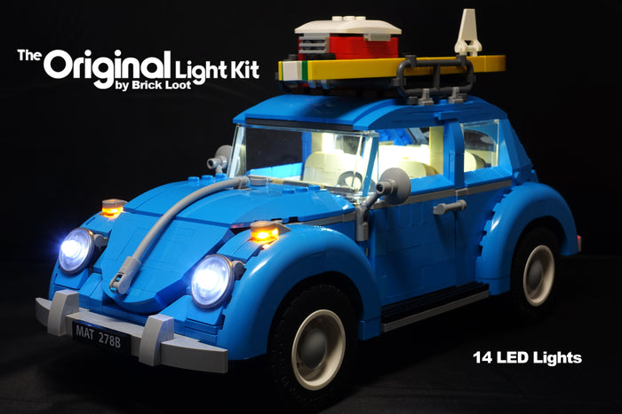 LEGO® 10252 Volkswagen VW Beetle LED Lighting Kit