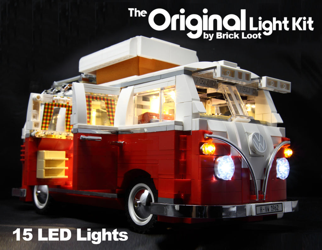 led lighting kit for lego 10220 vw camper brick loot. Black Bedroom Furniture Sets. Home Design Ideas