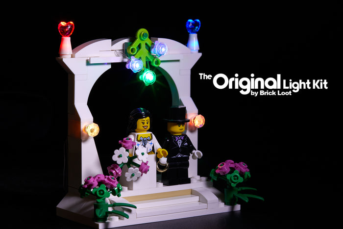 LED Lighting kit for LEGO Wedding Favor Set - 40165