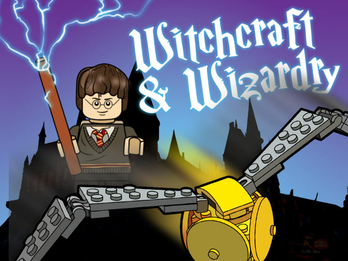 Brick Loot Box Witchcraft and Wizardry Harry Potter Theme Box Brick Loot Monthly Subscription Boxes are fun for ages 6-99 for all who love LEGO and brick building