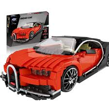 XINGBAO Dream Car Bugatti Veyron - XB-03009 - The Gallon Supercar.  Sold by Brick Loot with or without the retail box.