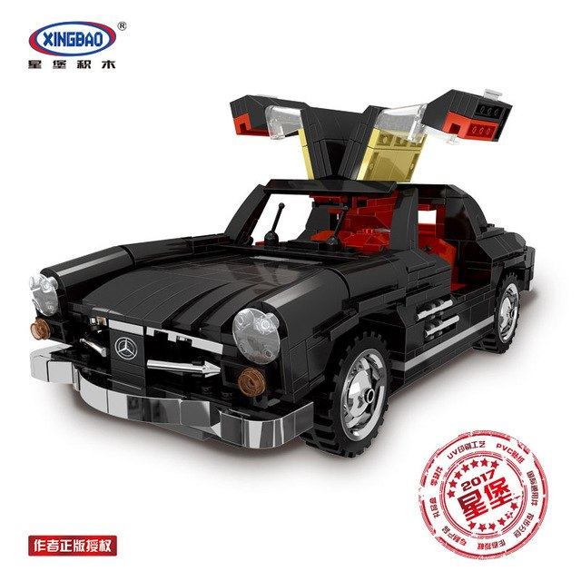 Xingbao Dream Car set XB-0310 Mercedes Benz 300SL sold by Brick Loot