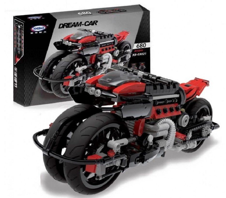 XINGBAO Dream Car Motorcycle Brick Building Set 0321 sold by Brick Loot
