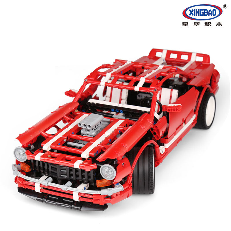 XINGBAO Technic Muscle Car model - SB-07001. Sold by Brick Loot.