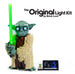LEGO® Star Wars Attack of The Clones Yoda Building Model and Collectible Minifigure with Lightsaber set 75255  with the Brick Loot LED Lighting Kit.