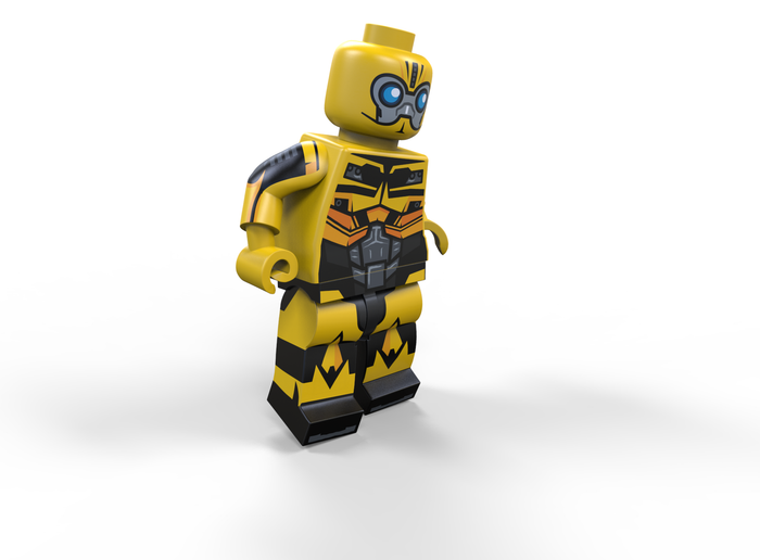Brick Loot Exclusive Bug Bot Custom LEGO® Minifigure LIMITED EDITION