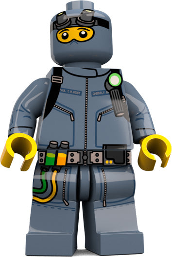 Brick Loot Exclusive Ghost Hunter Custom LEGO® Minifigure LIMITED EDITION