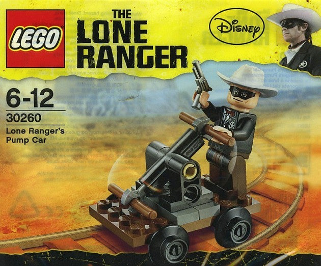 LEGO 30260 Disney Lone Ranger's Pump Car Bag Set