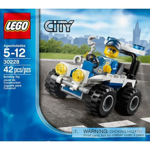 LEGO 30228 City Police ATV with Minifigure