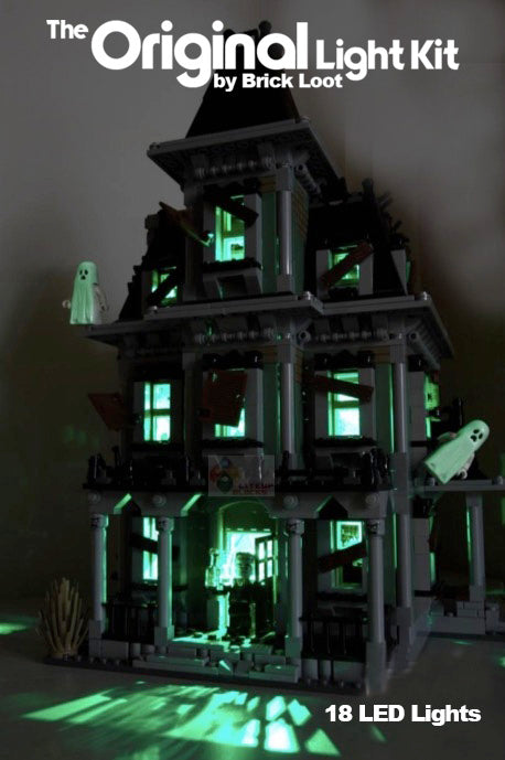 LED Lighting kit for LEGO® 10228 Monster Haunted House - SUPER SALE