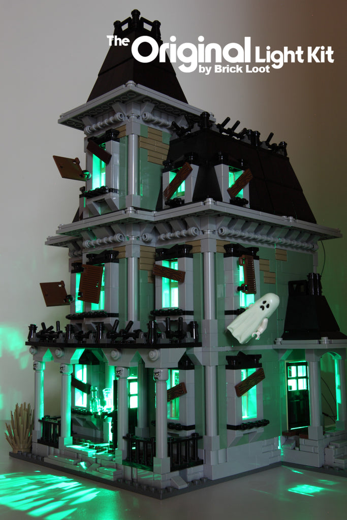 LED Lighting Kit for LEGO Monster Haunted House 10228