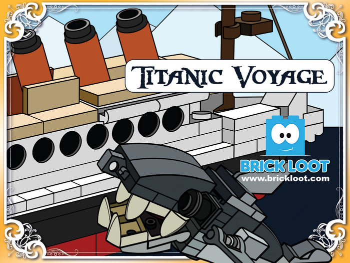 September 2017 Brick Loot Box  - Titanic Voyage