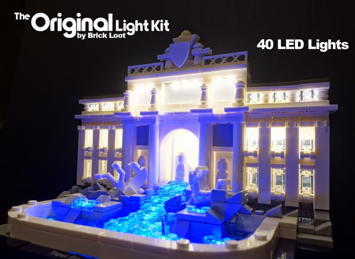 LED Lighting kit for LEGO 21020 Architecture Trevi Fountain LED Lighting Kit