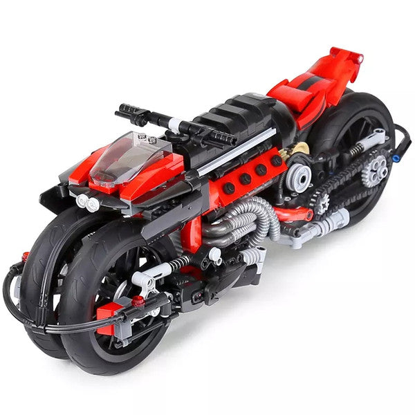 XINGBAO Dream Car Motorcycle Brick Building Set 0321 sold by Brick Loot with or without the box.