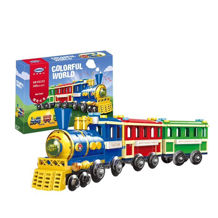 XingBao Colorful World Carnival Train - XB-01112
