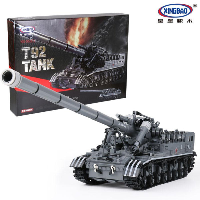 XINGBAO Military T92 Tank - XB-6001. Sold by Brick Loot with or without the retail box.