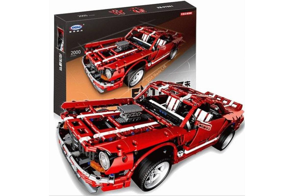 XINGBAO Technic Muscle Car set XB-07001. Sold by Brick Loot with or without the retail box.