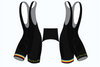 Apollo CT BLACK Elite Fit Bib Shorts - Powerhouse Sport